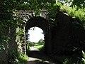The road arch of the Nant Islyn railway bridge - geograph.org.uk - 511207.jpg