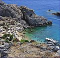 The sea of Lindos - Grecia - panoramio.jpg