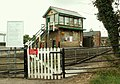 The signal control box at Dullingham Station - geograph.org.uk - 527707.jpg
