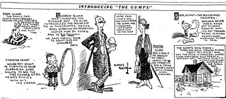 The Gumps - Sidney Smith's The Gumps (February 12, 1917).