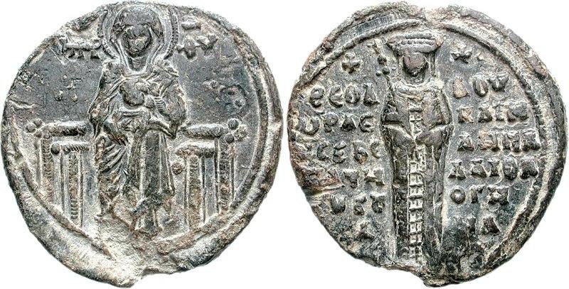 Theodora Doukaina Palaeologina the wife of Davit IV Narin, King of Georgia