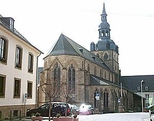 Tholey Abbey - Image: Tholey 2