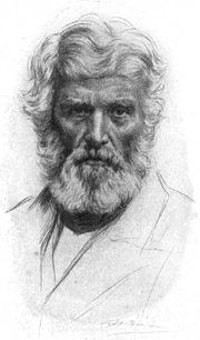 The most familiar view of Carlyle is as the 'bearded sage' with a penetrating gaze.