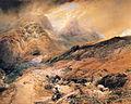 Thomas Miles Richardson - In the Pass of Glencoe, Argyllshire.JPG