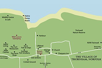 Thornham Village Map Norfolk Coast 2020 Thornham Norfolk Village Map 2020.jpg