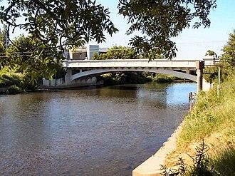 Thorverton - The current Thorverton bridge.
