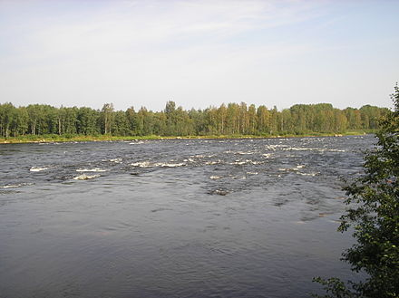 Rapids on the Burnaya River Threshold of Padunets on the river of Stormy.JPG