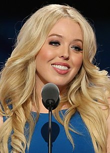 Tiffany Trump - the beautiful, sexy, celebrity with German, Irish, Scottish, English, roots in 2020