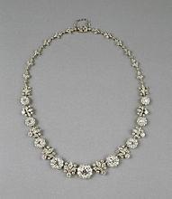 32f00a756 Diamond necklace, c. 1904