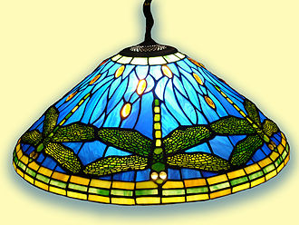 Insects in art - Tiffany & Co. dragonfly pendant lamp