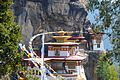 Tiger's Nest or Lair - Paro Buddhist Taktsang Palphug Monastery sacred site in the upper Paro Valley built from 1692 - panoramio (5).jpg
