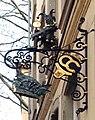 Till Eulenspiegel über Eingang zum Haus des Karnevals, Zollstraße 9, Düsseldorf-Altstadt.jpg