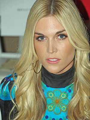 Tinsley Mortimer - Mortimer at Mercedes-Benz Fashion Week for the Custo Barcelona show