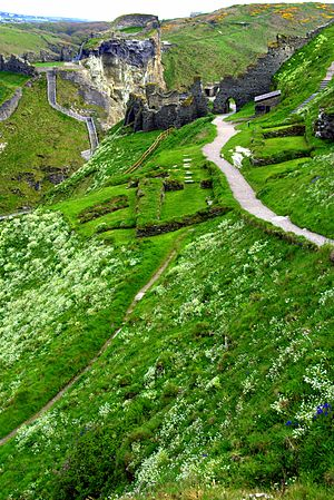 Symphony No. 2 (Elgar) - The ruins of Tintagel, Cornwall, UK.