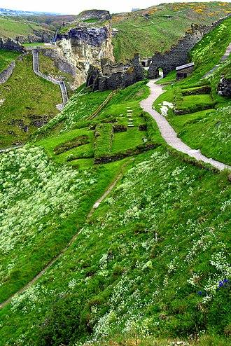 Symphony No. 2 (Elgar) - The ruins of Tintagel, Cornwall, UK