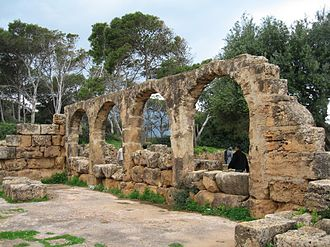 2000 World Monuments Watch - Image: Tipasa remain 2