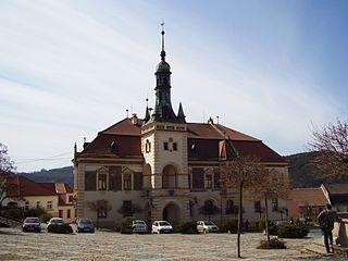 Tišnov Town in Czech Republic