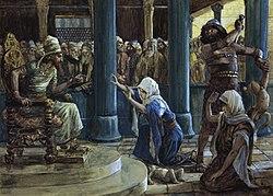 James Tissot: The Wisdom of Solomon