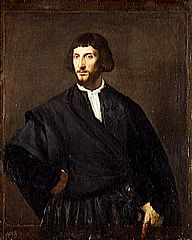 Portrait of a Man, Hand on His Belt