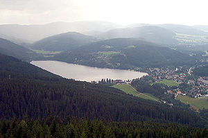 Titisee - View from the Hochfirst