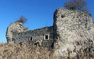 Albulae Aquae - Image: Tivoli Aquae Albulae Roman baths ruins