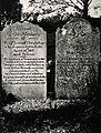 Tombstones recording the deaths of Benjamin Jesty and his wi Wellcome V0018800.jpg