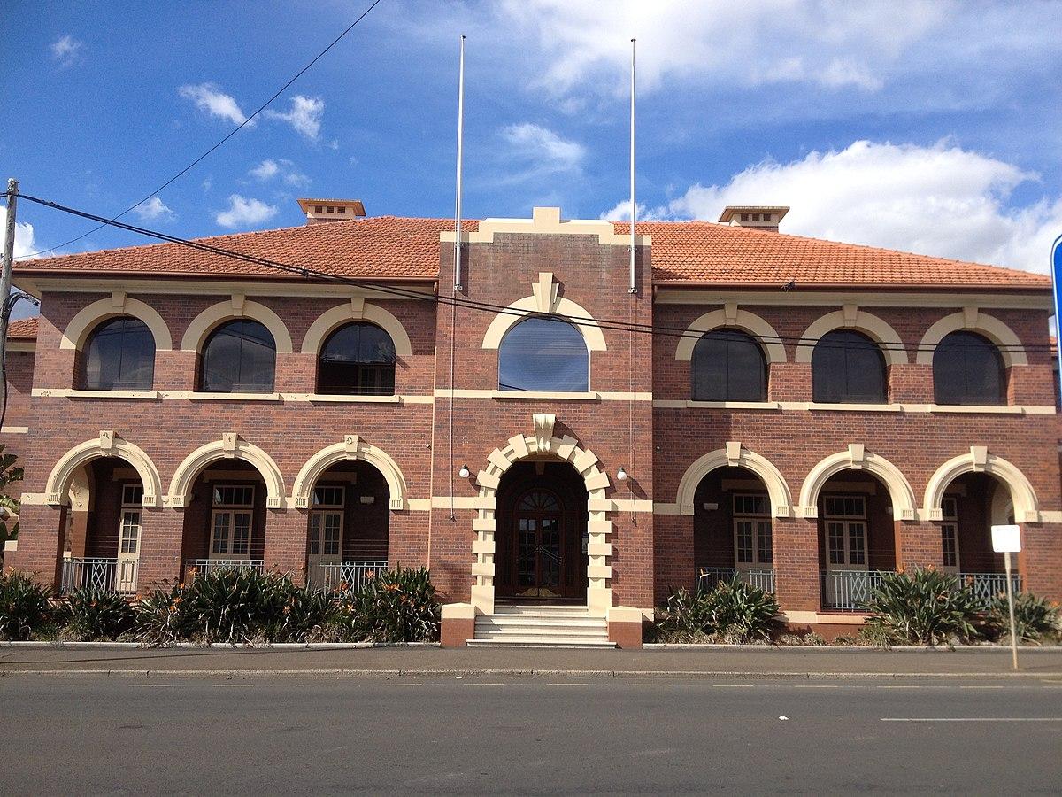 1200px Toowoomba Police Station plex 01 JPG