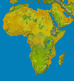 Geography of Africa - Topography of Africa