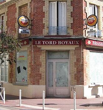 Pierre Perret - Le Tord Boyaux, café à Montrouge.