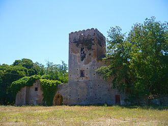San Marco (Castellabate) - Image: Torretta di s.marco di castellabate