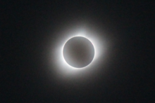 A Solar eclipse totality from Columbia.