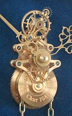 Механічний годинник — Вікіпедія 52a6c20a1f538