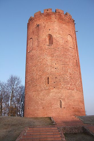 Tower of Kamyenyets - The tower of Kamyenyets today