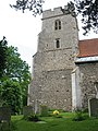 Tower of St Mary's church, North Mymms - geograph.org.uk - 1334167.jpg