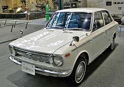 First generation 1969 Toyota Corolla