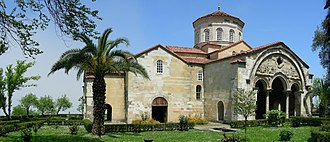Empire of Trebizond - The Hagia Sophia church of Trebizond, today a museum.