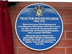Photo of Tractor Sound Studios, Tractor, Steve Clayton, Jim Milne, and 6 others