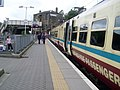 Train just arrived at Springburn station - geograph.org.uk - 1323462.jpg