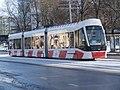 Tram 516 at Viru Stop in Tallinn 13 February 2016.jpg