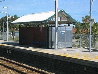 Challis railway station - Station in April 2005