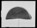 Trekantig hatt, från Adolf Fredriks tid - Kongl. Maj-ts Liverie för Musiken - Livrustkammaren - 70642.tif