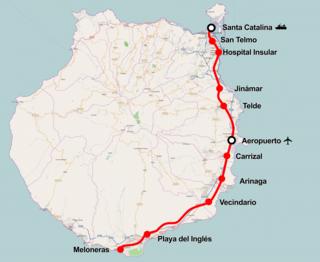 Tren de Gran Canaria