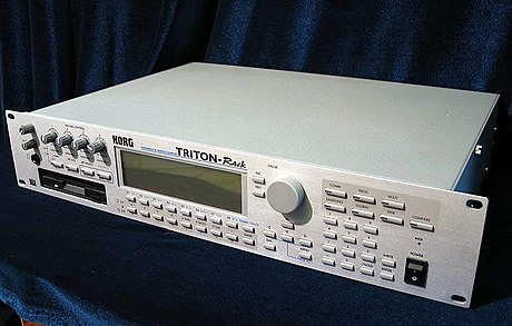 Korg Triton rack-mountable sound module. Triton rack adjusted.jpg