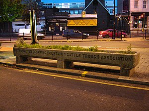 Mare Street - Image: Trough mare street hackney