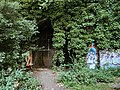 Tunnel portal in Parkland Walk South towards Highgate, August 2020.jpg