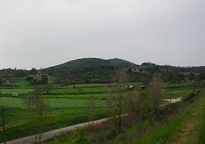Catalan Coastal Depression - Turó de la Dona Morta a hill of the Catalan Coastal Depression located near Maçanet de la Selva.