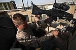 Turret gunners of Combat Logistics Battalion 7 keep convoy safe 140714-M-JD595-0046.jpg