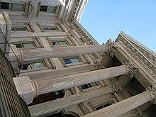 Kellum's restored front facade
