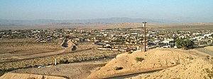 Twentynine Palms, California - Northeast view of Twentynine Palms from Donnell Hill on the south side of town