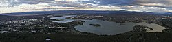 Twilight canberra as seen from telstra tower observation deck.jpg